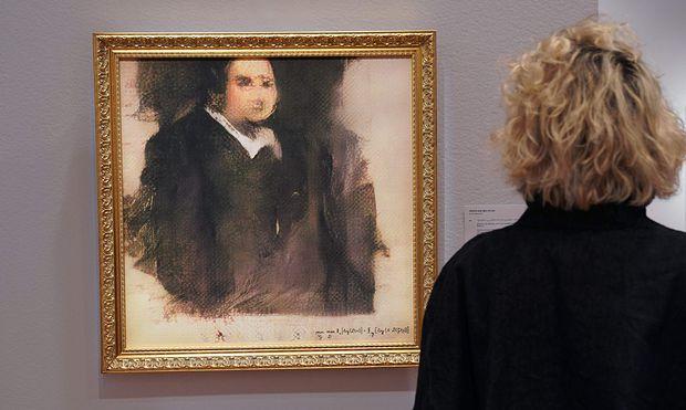 KI-Gemälde versteigert: Unbekannter Käufer zahlt Rekordpreis