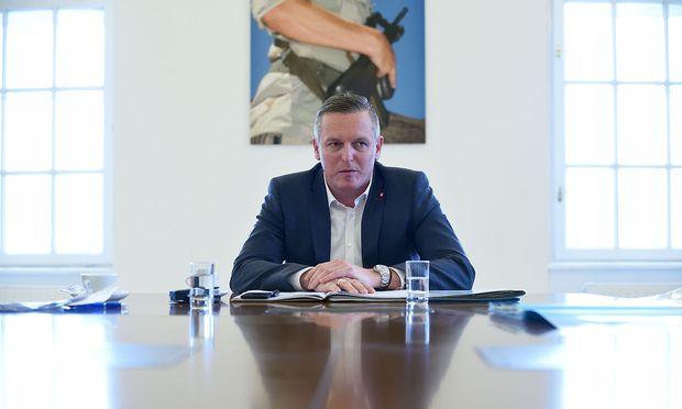 Verteidigungsminister Mario Kunasek (FPÖ).