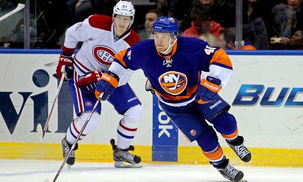 Eishockey GrabnerAssist NHLSieg Islanders