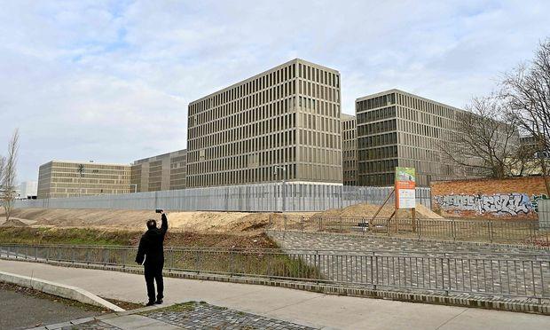 Das neue BND-Hauptquartier in Berlin