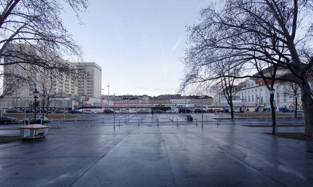 Die Neugestaltung des Heumarkt-Areals zwischen dem Hotel Intercontinental (l.) und dem Konzerthaus (r.) beschäftigt die Stadt seit Jahren.