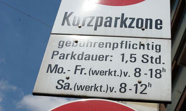 Keine Parkscheine Am 8 Dezember In Wien Diepressecom