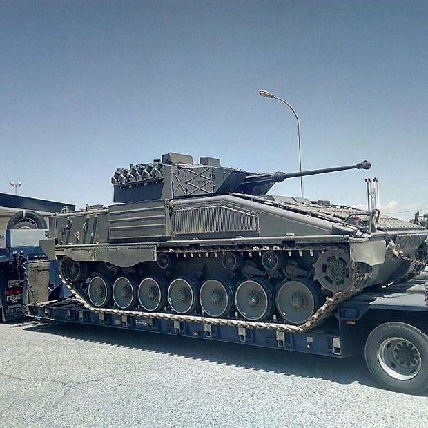 Ein Pizarro-Kampfschützenpanzer