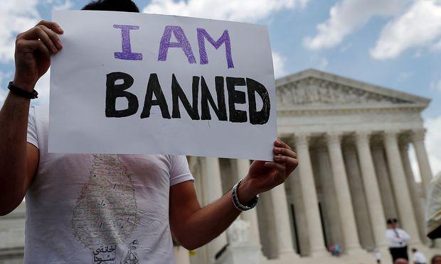 Staatsbürger mehrheitlich muslimischer Länder wie Iran, Libyen, Syrien oder Yemen dürfen seit Dezember nicht in die USA einreisen.