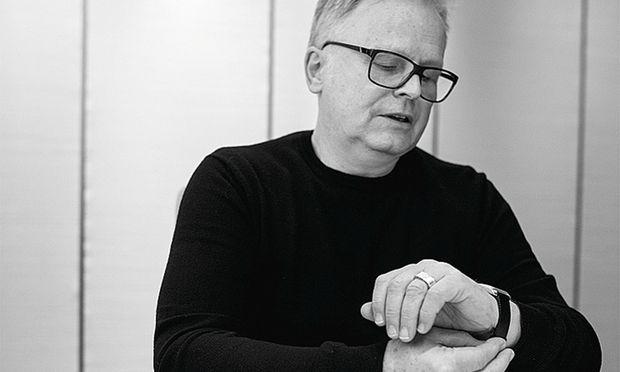 Ein Hit. Herbert Grönemeyer erfüllte sich mit der selbst entworfenen Uhr einen Jugendtraum.