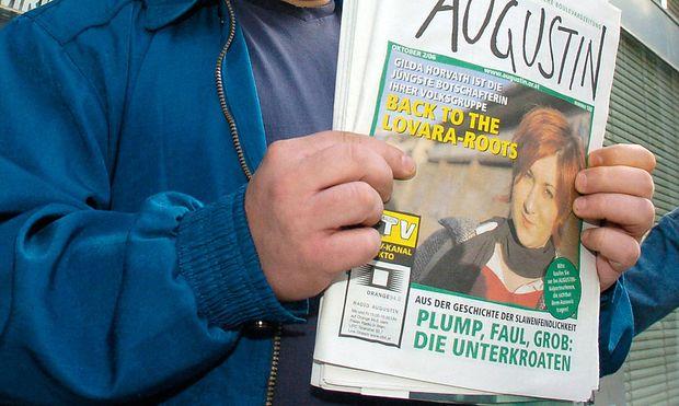 """Eine """"Augustin""""-Ausgabe aus dem Jahr 2006"""