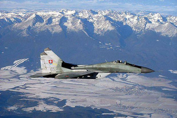 MiG-29 der slowakischen Luftwaffe
