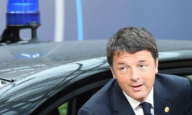 Der italienische Premier, Matteo Renzi, will den Banken des Landes helfen.