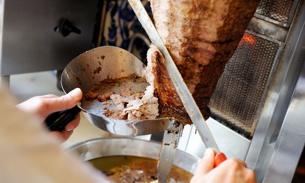 Der Exportschlager der türkischen Küche: Döner Kebab.