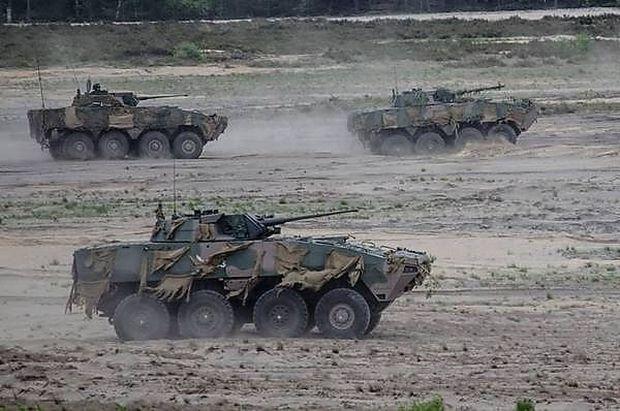 Polnische KTO-Rosomak-Radpanzer
