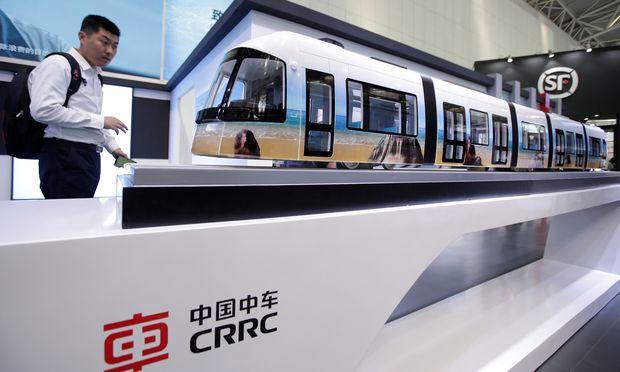 Chinas Bahnkonzern ist in Deutschland angekommen.