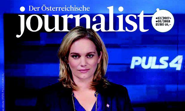 """Das Titelbild des """"Journalist"""""""
