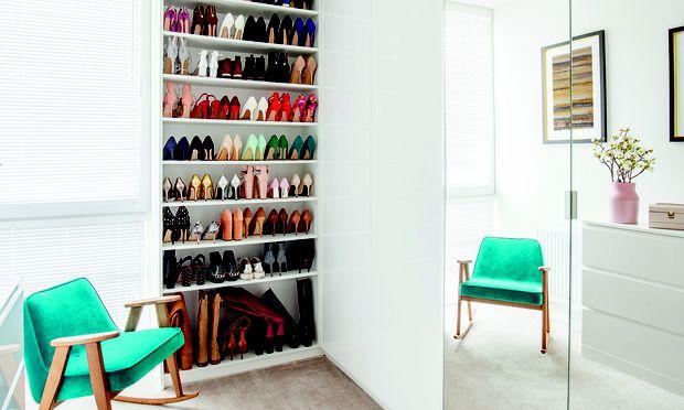 Ankommen. Lieber ein paar Quadratmeter im Wohnsalon für eine Garderobe opfern.