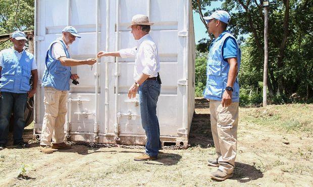 Kolumbiens FARC-Guerilla gilt jetzt als vollständig entwaffnet