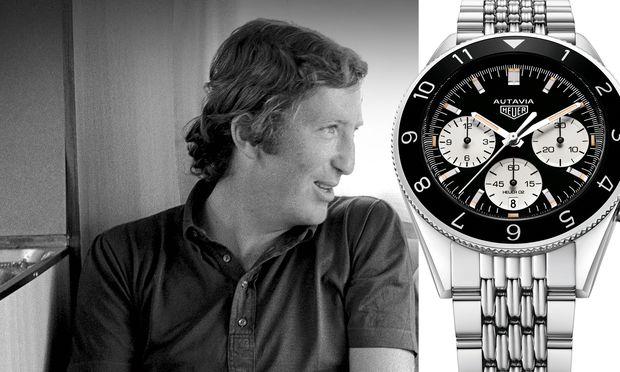 """Am 5. September jährt sich zum 47. Mal der Todestag von Formel 1-Weltmeister Jochen Rindt. TAG Heuer hat  die Autavia """"Rindt"""" als Re-Edition neu aufgelegt."""