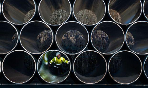 Gazproms Geld fließt in Pipelines.