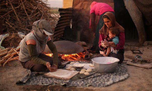 Das syrische Regime könnte Verbrechen gegen die Menschlichkeit begehen. Vielen Syrern fehlt es an Essen.