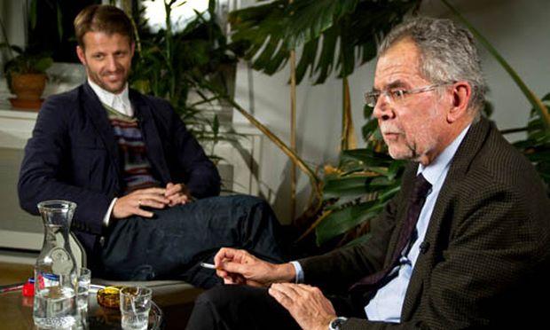Michael Fleischhacker (links) und Alexander Van der Bellen.