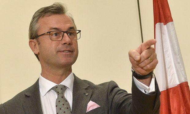 FPÖ-Infrastrukturminister Norbert Hofer