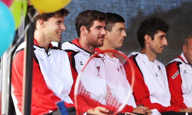 Davis-Cup: Österreich stellt Weichen auf Sieg