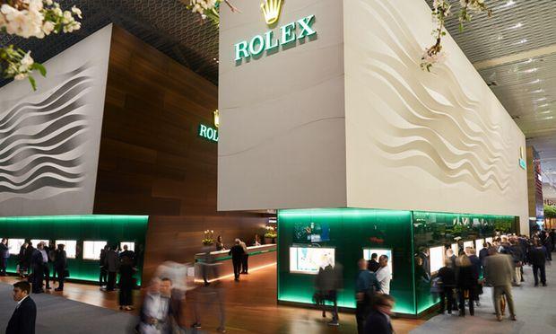 Rolex will 2020 die eigene Baselworld-Präsenz verstärken.