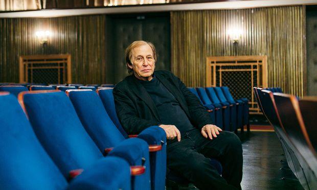 Hans Guttner im Filmcasino, wo am Montag seine Kinodokumentation übers Burgtheater Premiere hat.