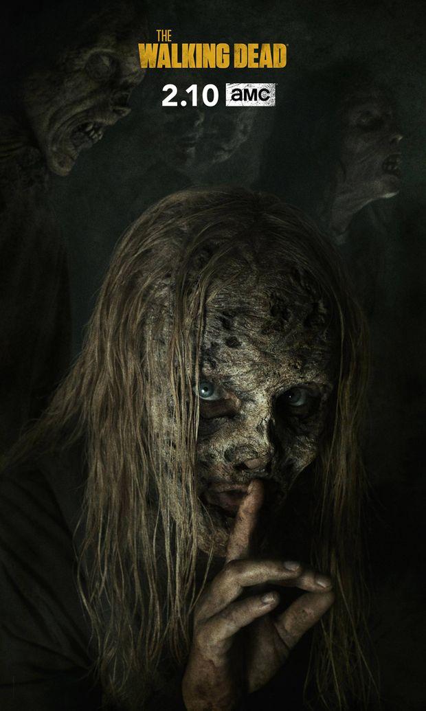 THE WALKING DEAD 2010 Serie TV creee par Frank Darabont saison 9 affiche americaine serie TV TV se