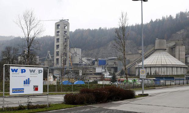 Zementwerk der Firma Wietersdorfer in Klein Sankt Paul.