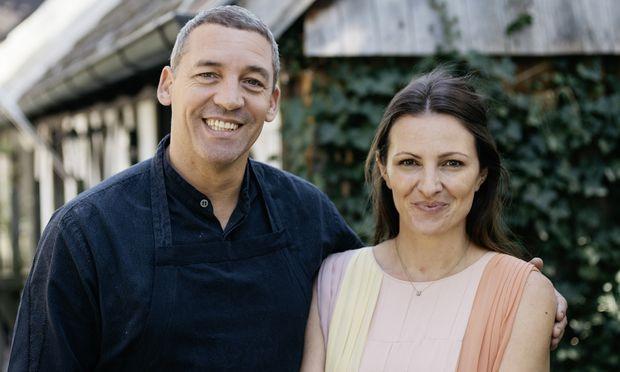 Alain Weissgerber und Barbara Eselböck.