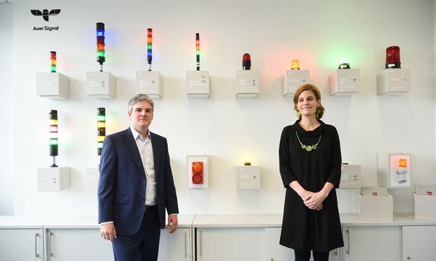 Christian Auer und Antonia Korger führen die Firma in vierter Generation.