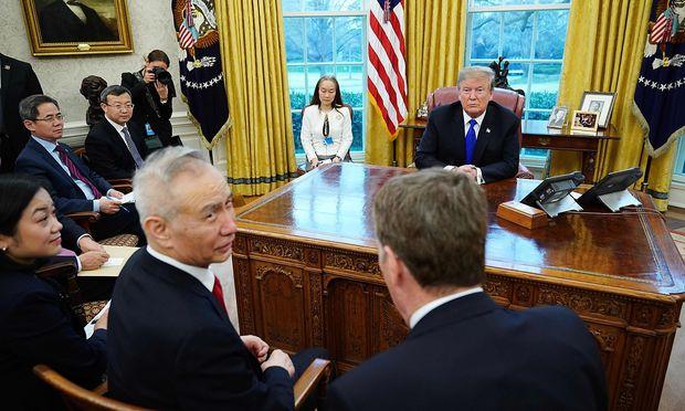 Eskalation im Handelskonflikt:USA und China gehen ohne Deal auseinander