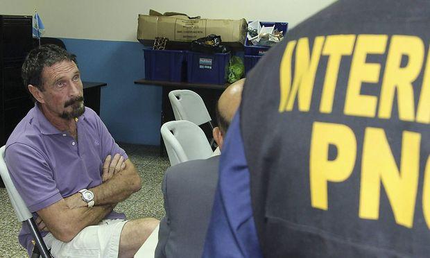 Software-Pionier McAfee in Guatemala festgenommen