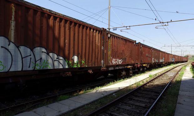 Müll-Zug