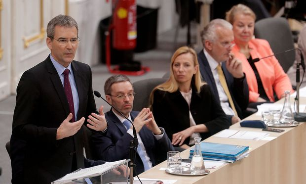 Finanzminister Hartwig Löger (ÖVP)