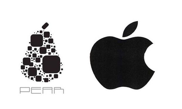 Im Falle einer Verwechslung: Das Logo von Pear Technologies ist links.