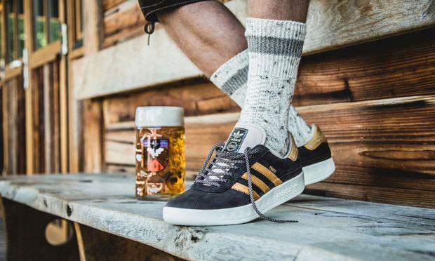 Der passende und robuste Sneaker für die Wiesn.