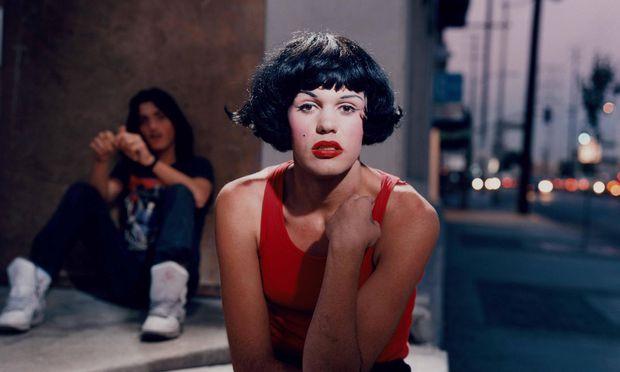 "Momente des Urbanen, hier auf dem Strich in Las Vegas: ""Marilyn"" von Philip-Lorca diCorcia. 1990-92."