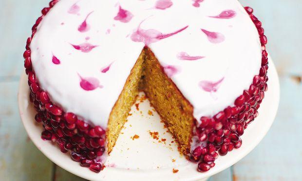 Rezept Pistazien Granatapfel Kuchen Diepresse Com