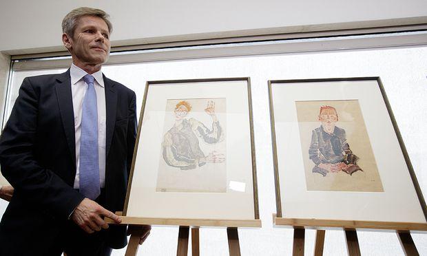 PK LEOPOLD MUSEUM EINIGUNG �BER SCHIELE-ZEICHNUNGEN: OSTERMAYER