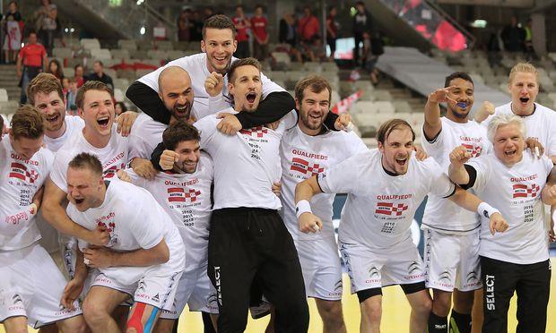 Österreichs Handballer für EM 2018 qualifiziert!