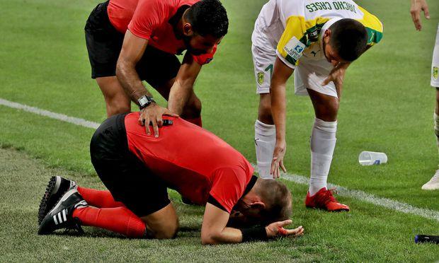 SOCCER - UEFA EL quali, Sturm vs Larnaca