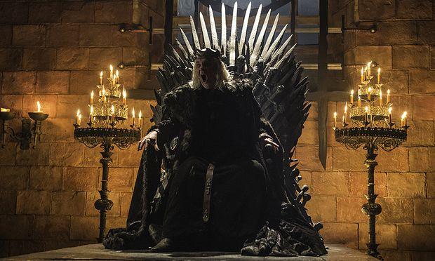 ''Burn them all'' schreit König Aerys / Bild: (c) HBO
