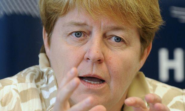 ÖBB-Aufsichtsratspräsidentin Brigitte Ederer
