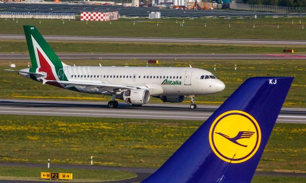 DEU Deutschland Nordrhein Westfalen Duesseldorf 30 04 2017 Duesseldorf Airport Registration EI