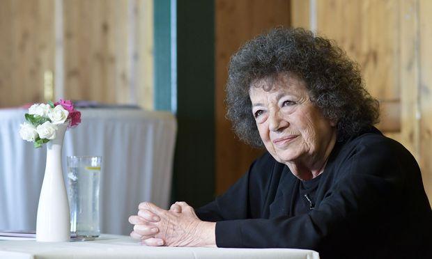 Elizabeth T. Spira war nicht nur eine gute Zuhörerin, sie konnte selbst wunderbare Geschichten erzählen. (Das Foto entstand im Juni 2018).