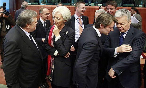 Euro-Finanzminister beraten über Griechenland