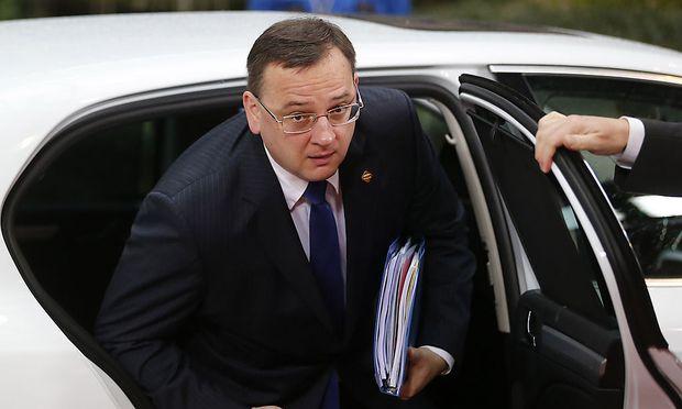 Misstrauensantrag der tschechischen Sozialdemokraten gegen Regierung