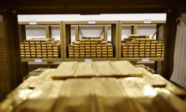 Gold kann man auch extern lagern.