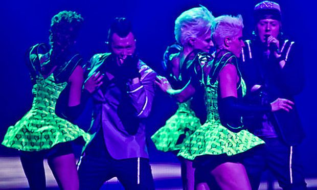?Eurovision Song Contest?: Trackshittaz singen um den Finaleinzug