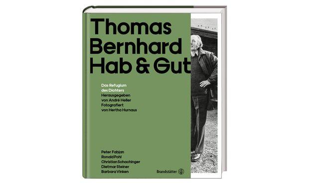 """""""Hab & Gut"""". Hg. von André Heller, erschienen im Brandstätter Verlag."""